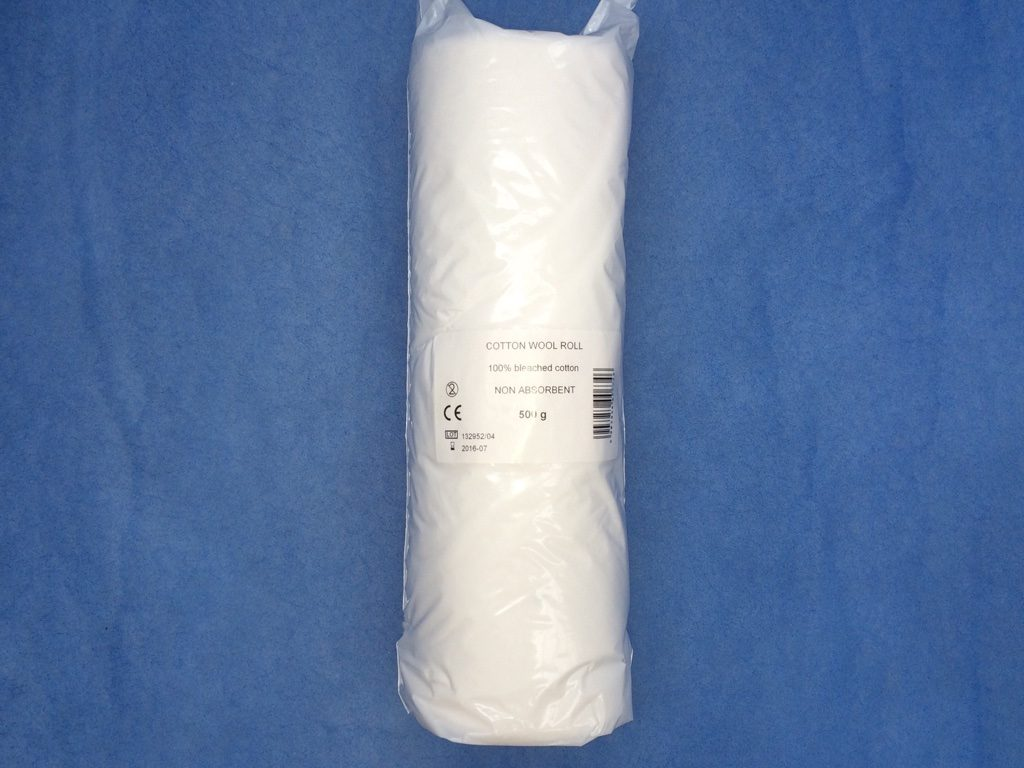 Non Absorbent (Not Interleaved) Cotton Wool Rolls